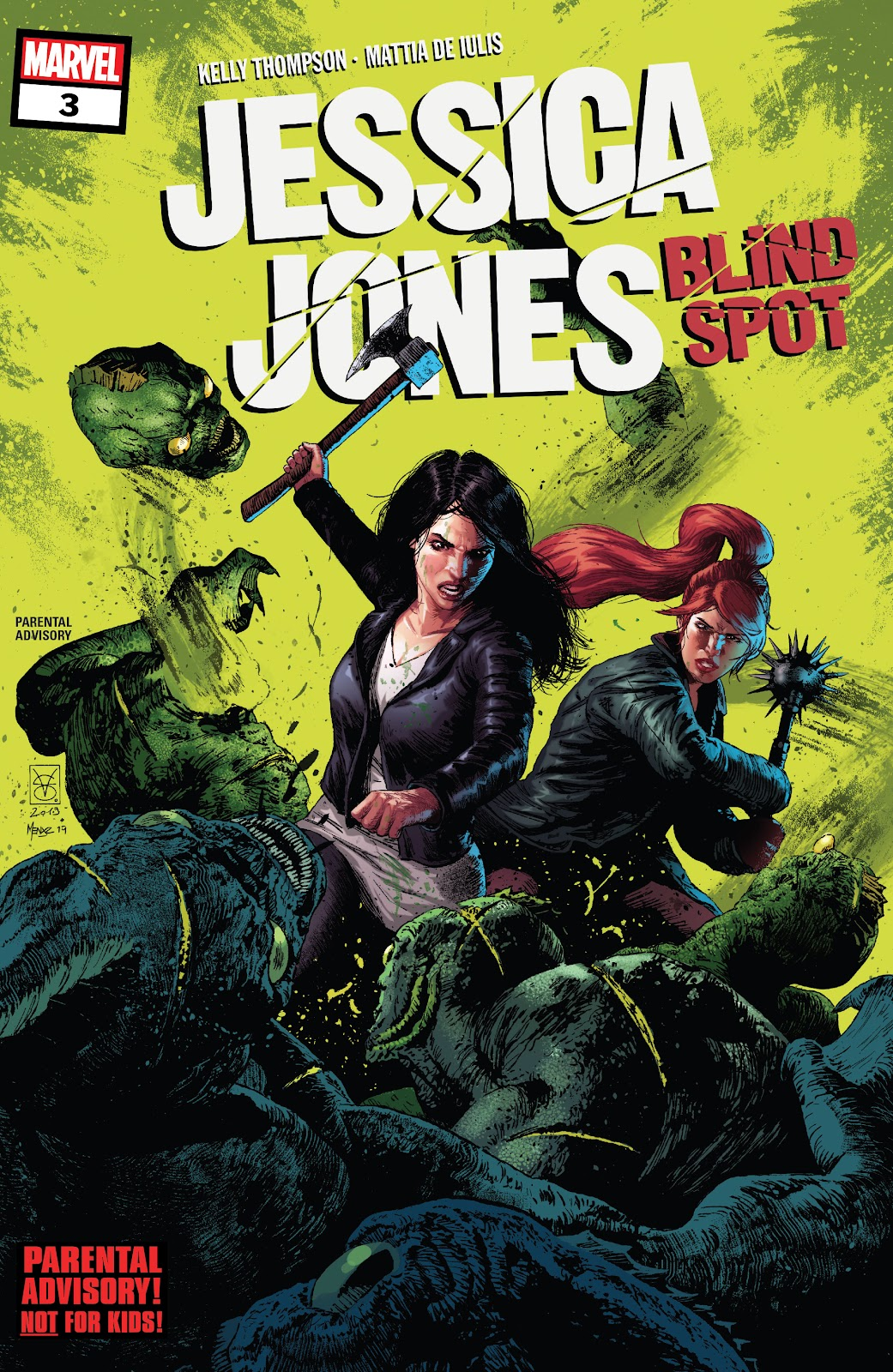 Jessica Jones: Blind Spot issue 3 - Page 1