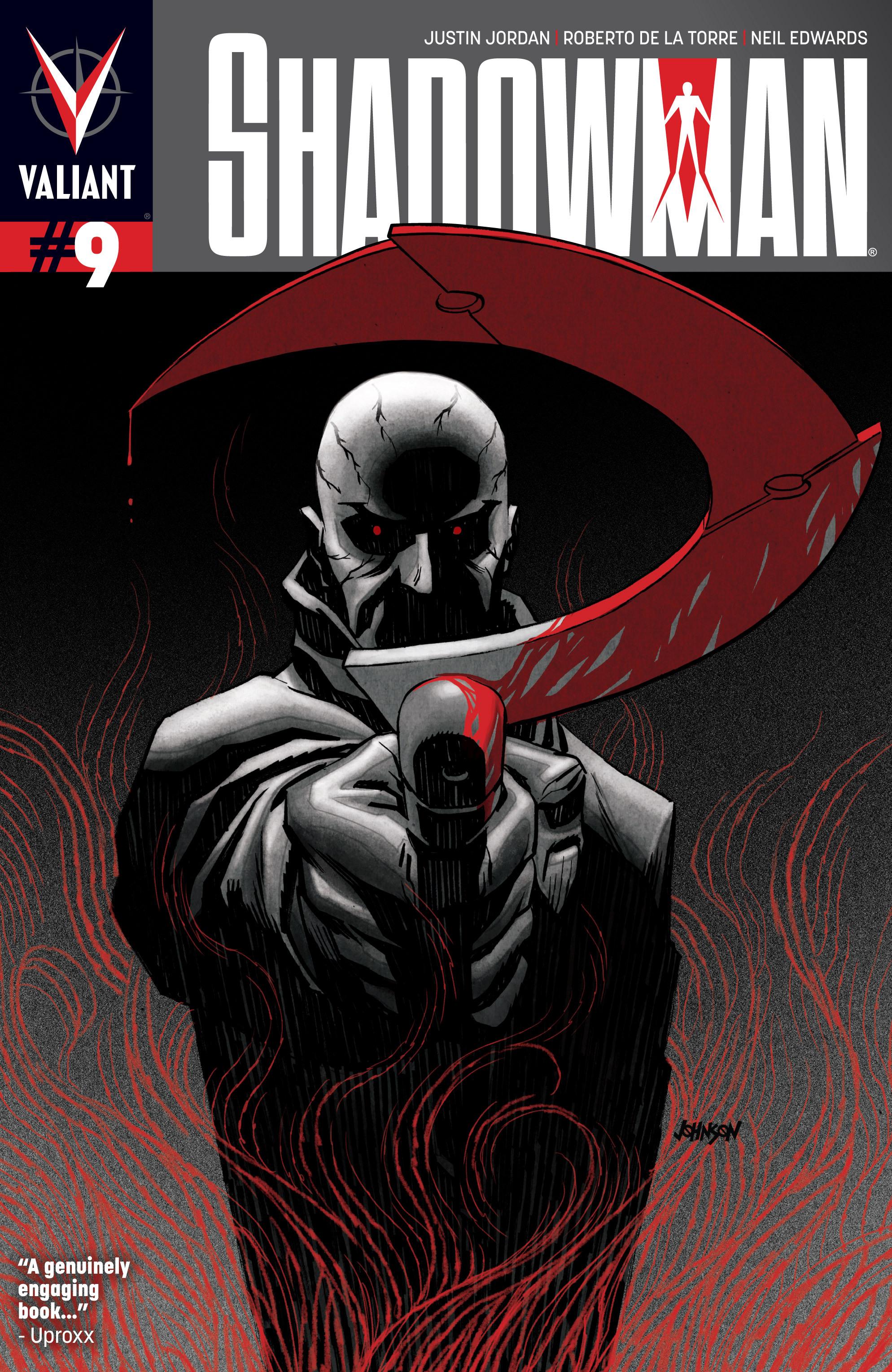 Read online Shadowman (2012) comic -  Issue #9 - 1