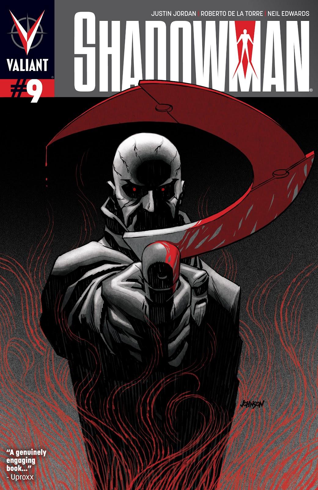 Shadowman (2012) 9 Page 1
