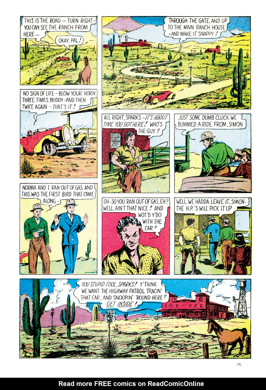 Read online The Bill Everett Archives comic -  Issue # TPB 1 (Part 1) - 75