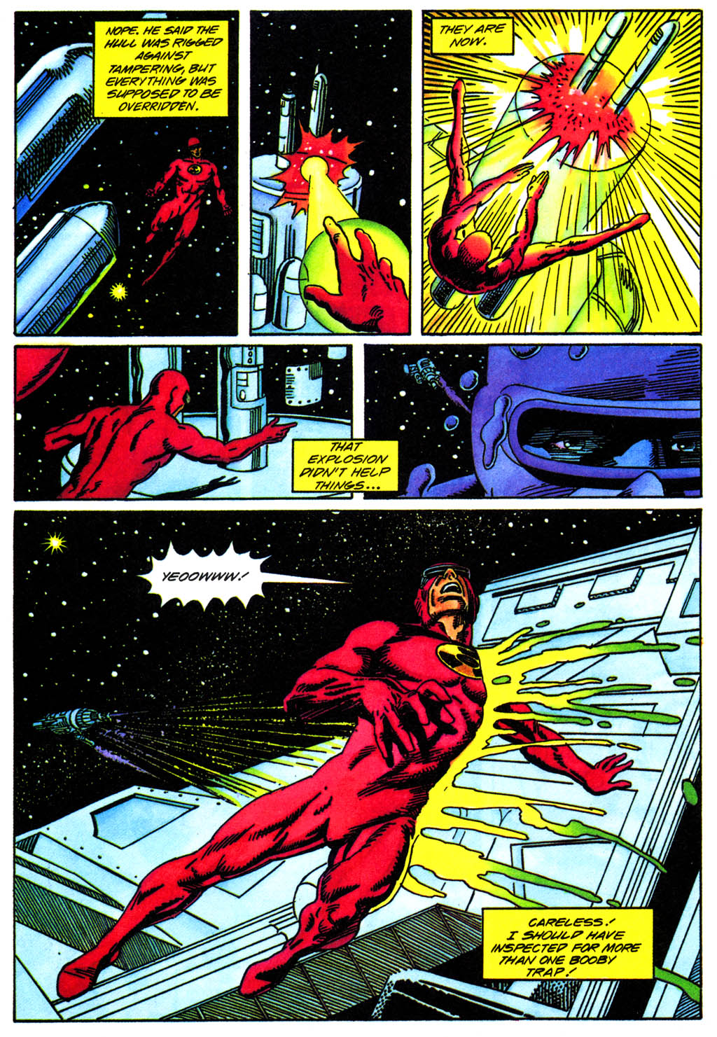 Read online Solar, Man of the Atom comic -  Issue #41 - 14