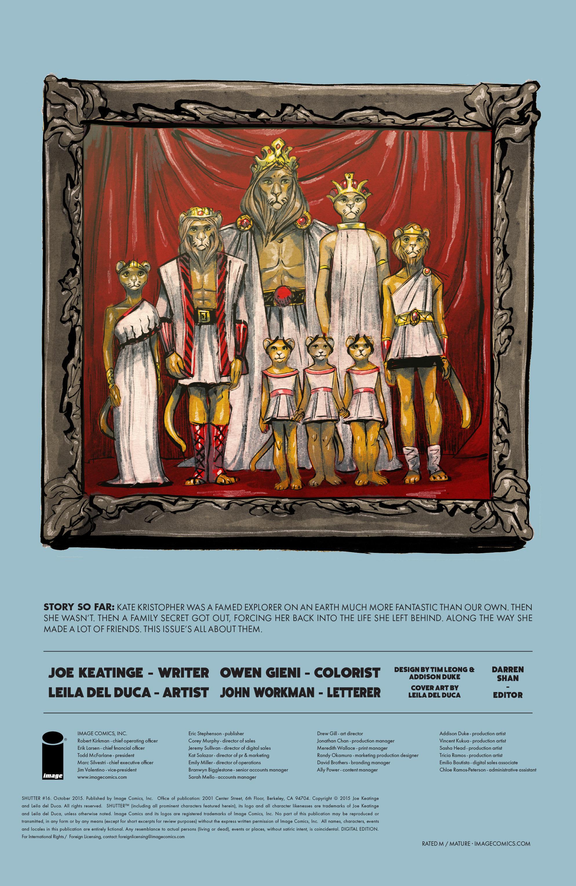 Read online Shutter comic -  Issue #16 - 28