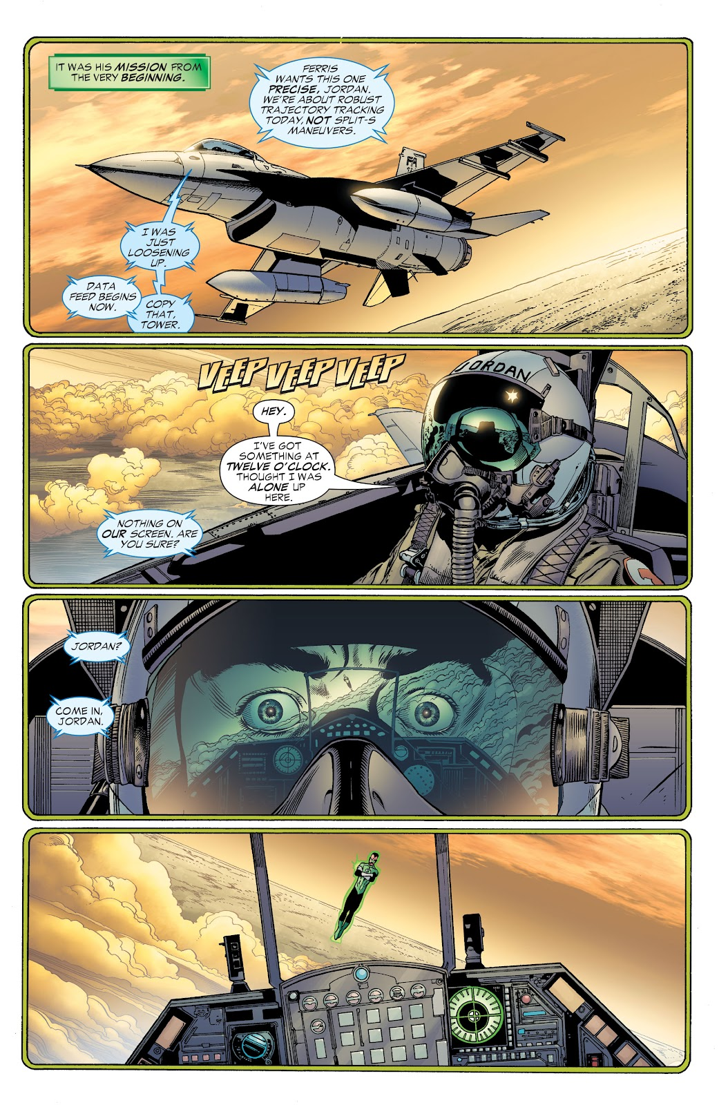Read online Green Lantern by Geoff Johns comic -  Issue # TPB 1 (Part 2) - 20