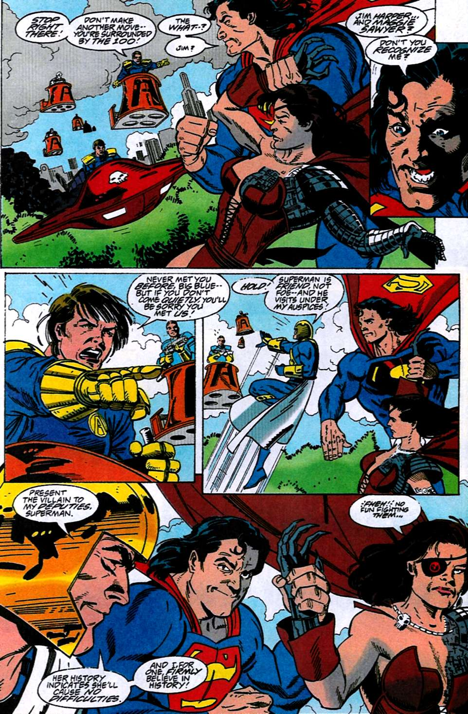Read online Adventures of Superman (1987) comic -  Issue #516 - 13