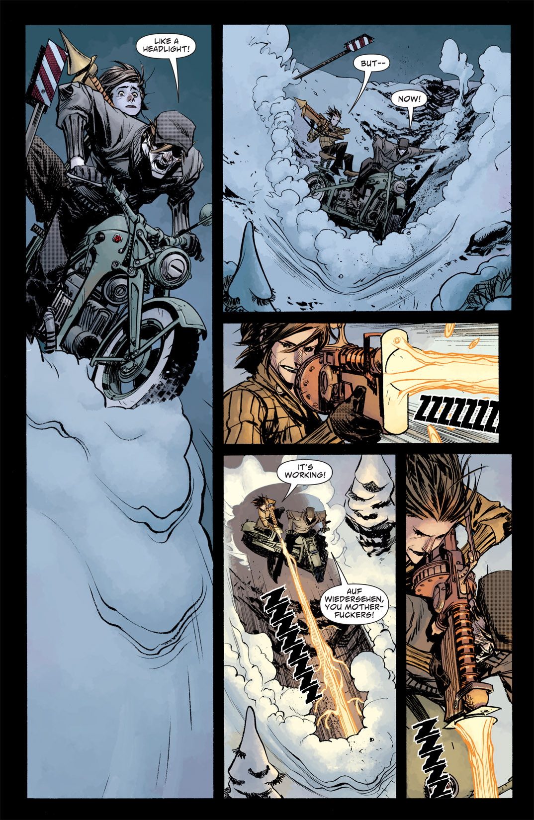 Read online American Vampire: Survival of the Fittest comic -  Issue #5 - 6