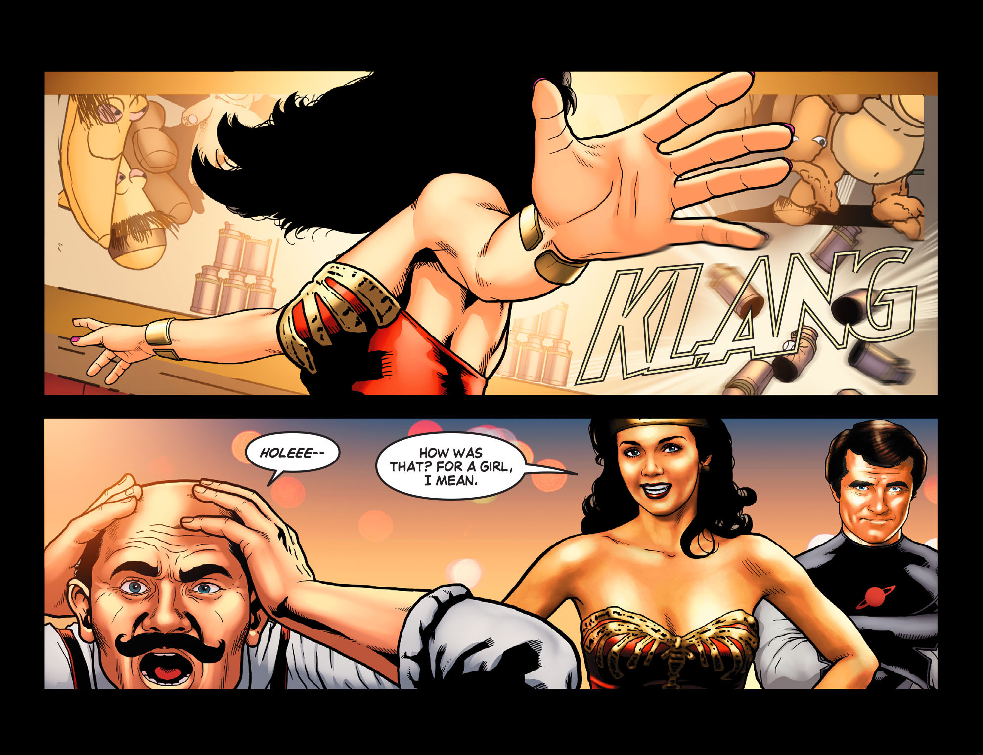 Read online Wonder Woman '77 [I] comic -  Issue #13 - 9