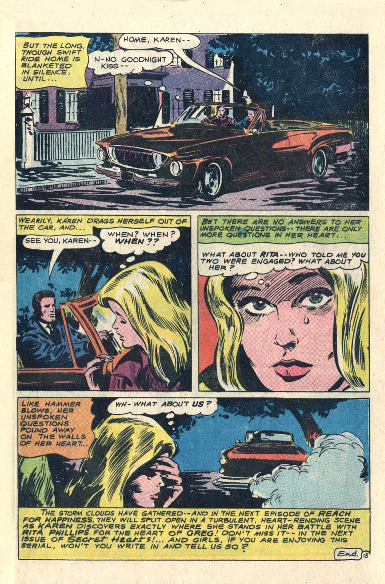 Read online Secret Hearts comic -  Issue #113 - 33