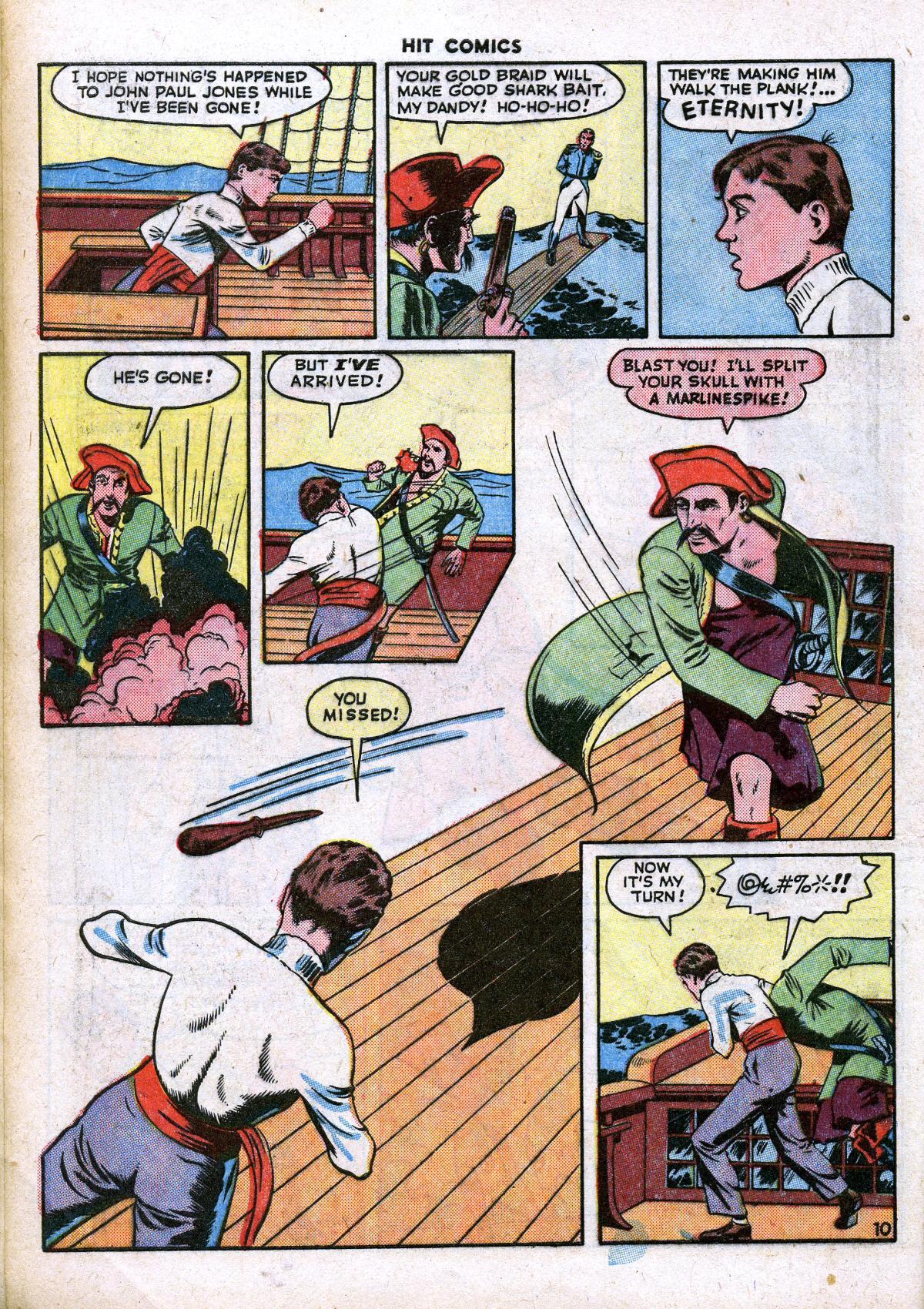 Read online Hit Comics comic -  Issue #41 - 12