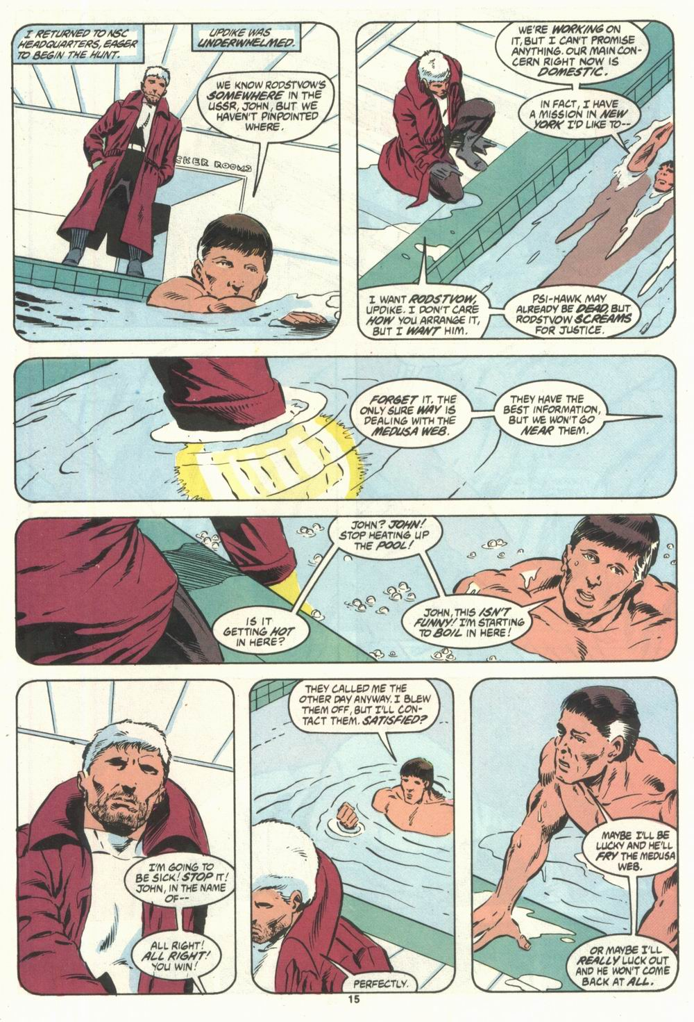 Read online Justice (1986) comic -  Issue #28 - 17