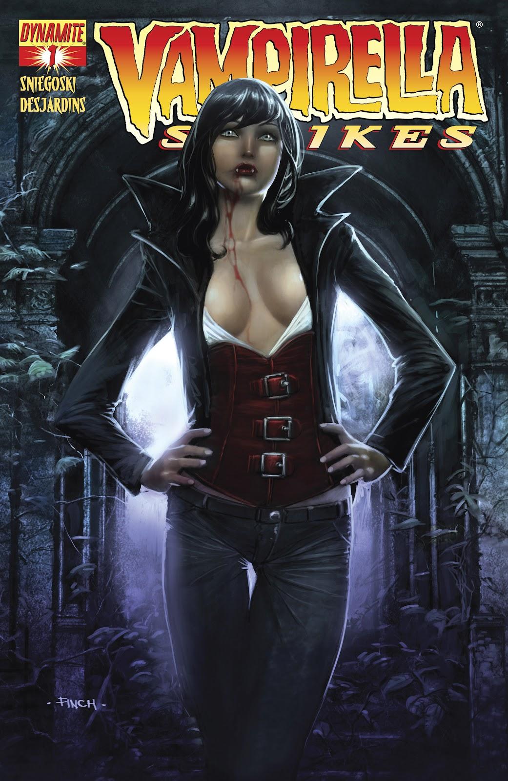 Read online Vampirella Strikes comic -  Issue #1 - 2