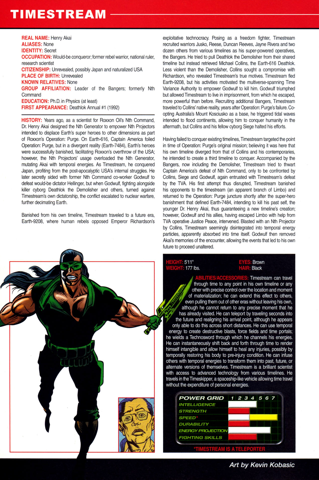 Read online All-New Official Handbook of the Marvel Universe A to Z: Update comic -  Issue #4 - 54