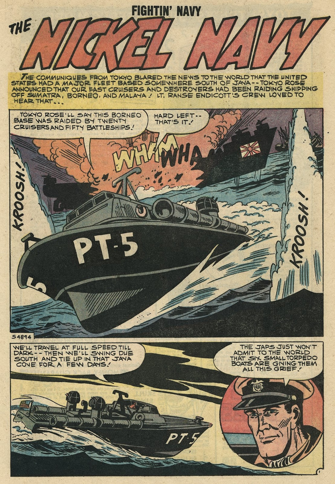 Read online Fightin' Navy comic -  Issue #86 - 15