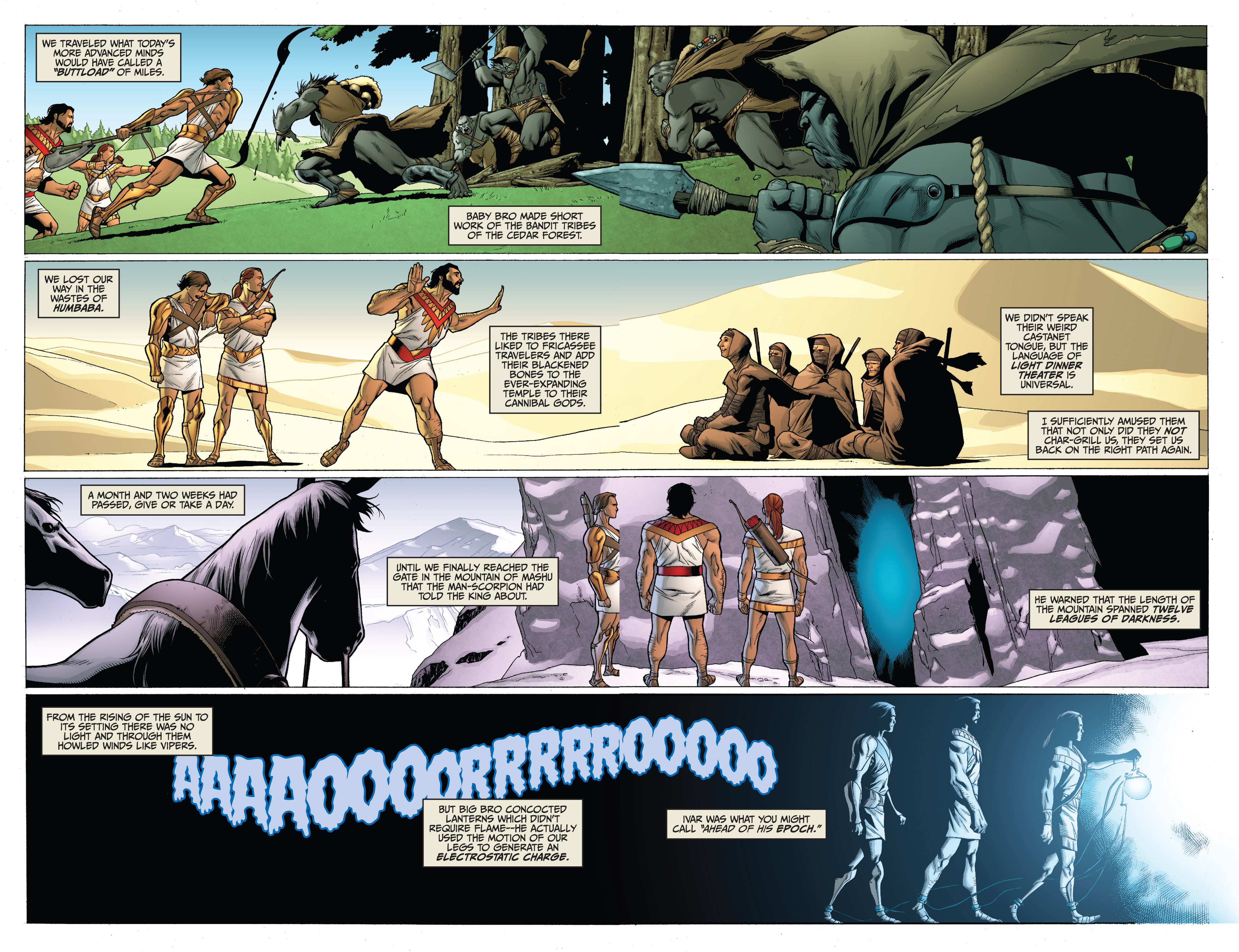 Read online Archer and Armstrong comic -  Issue #0 - 8