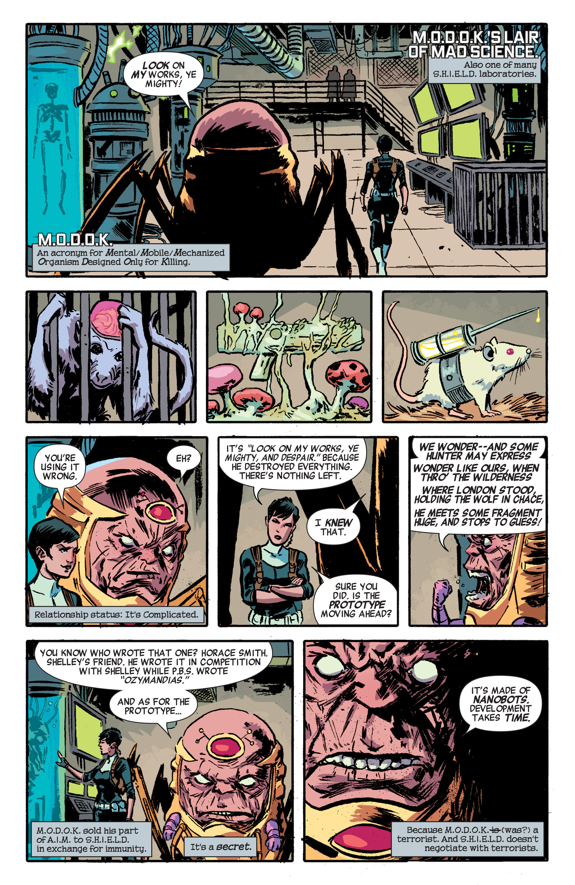 Read online Secret Avengers (2014) comic -  Issue #1 - 8