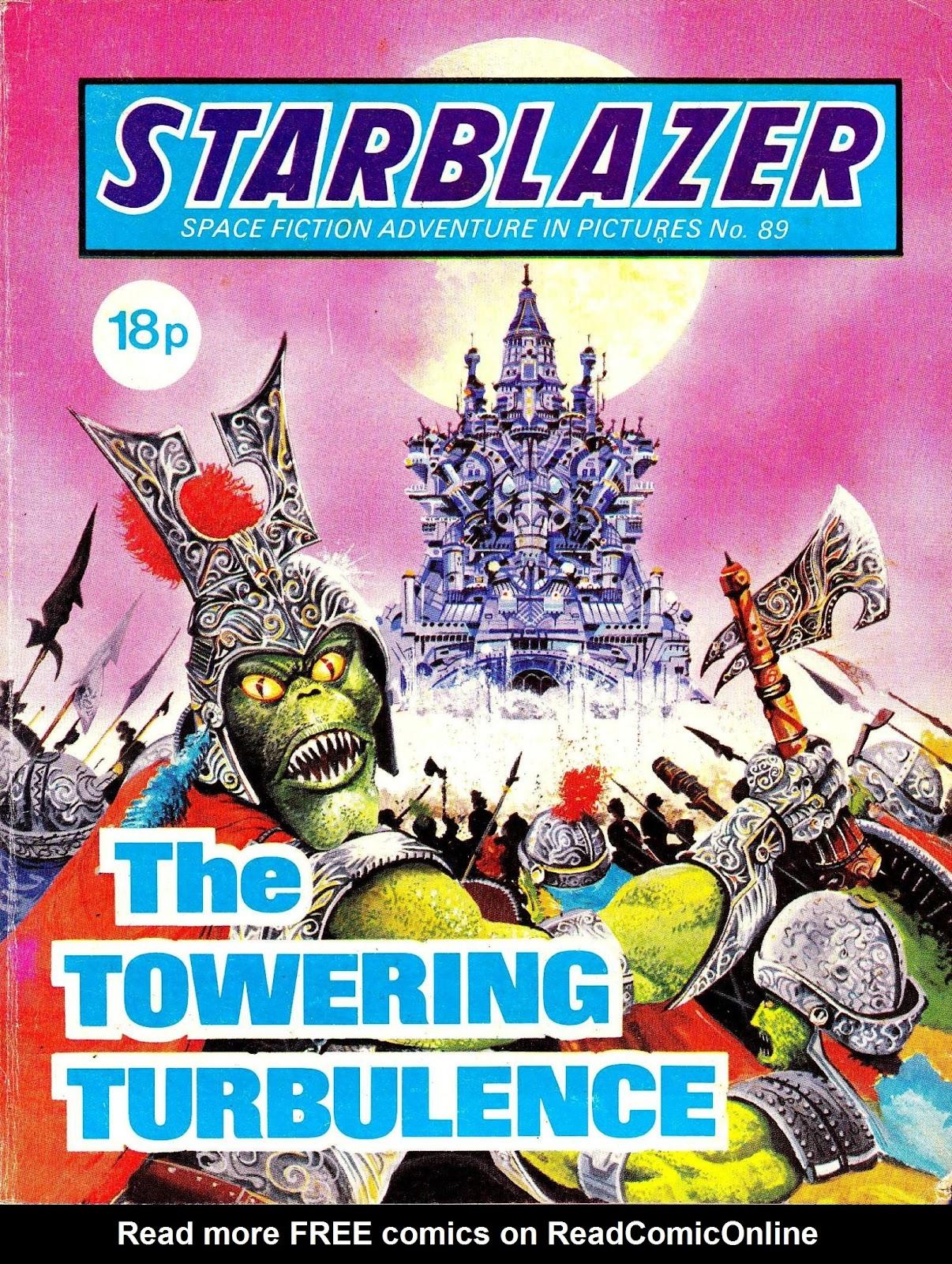 Starblazer issue 89 - Page 1
