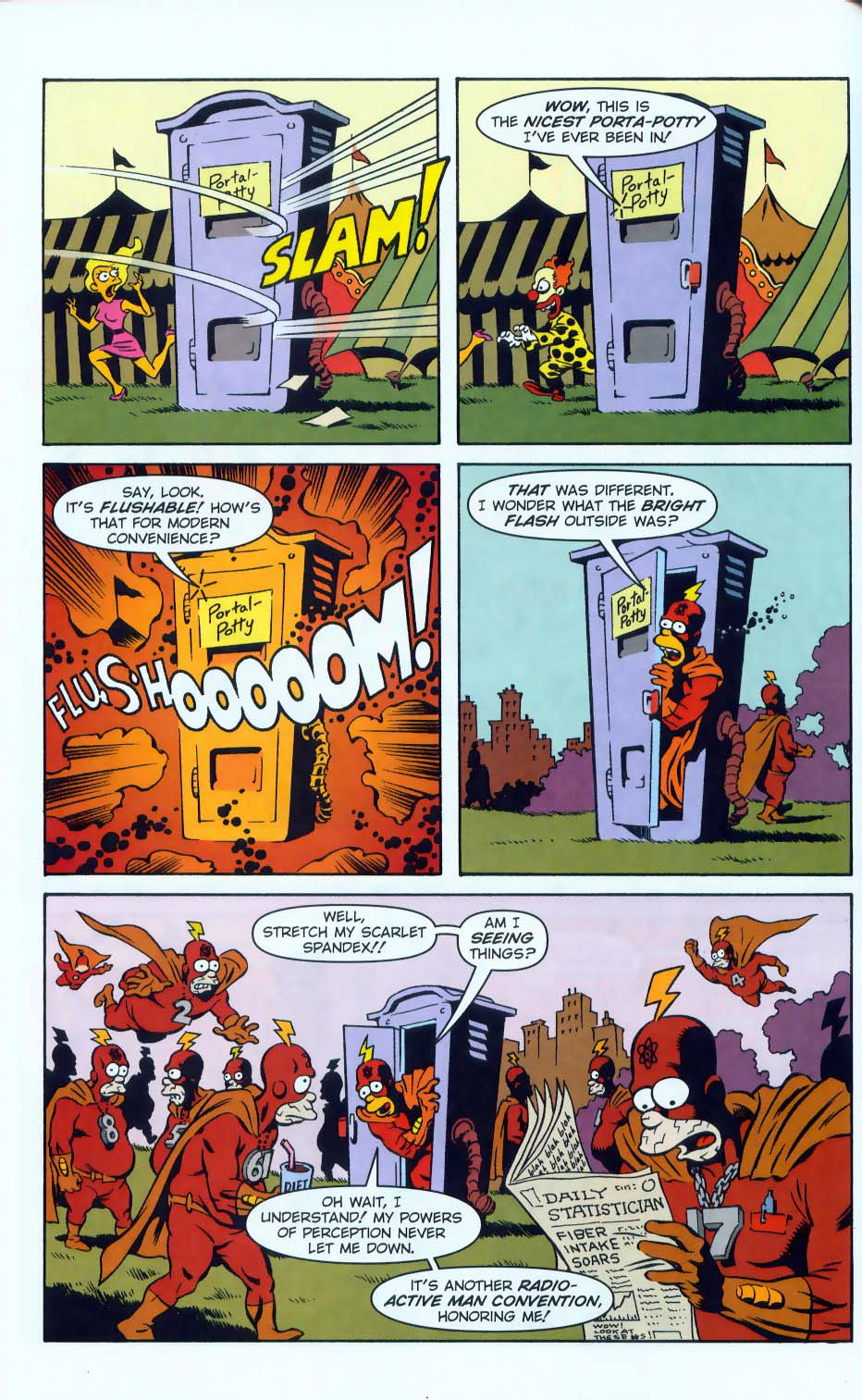 Read online Simpsons Comics comic -  Issue #50 - 57