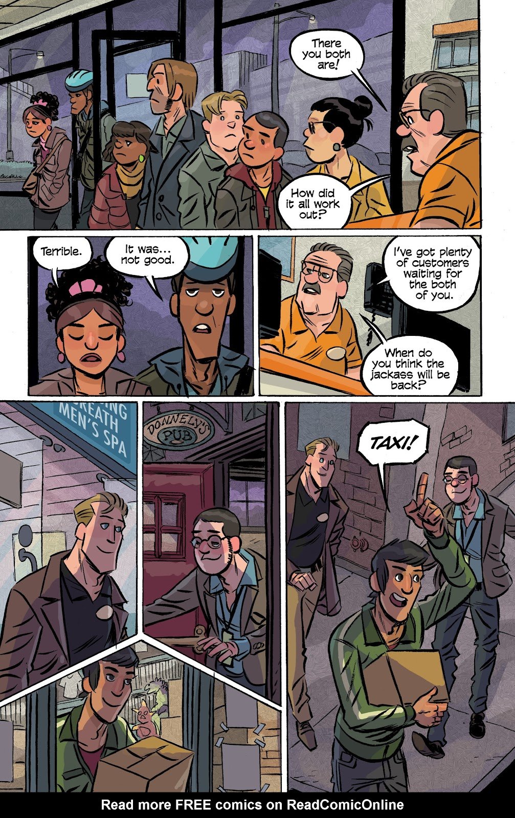 Read online Cellies comic -  Issue #8 - 21