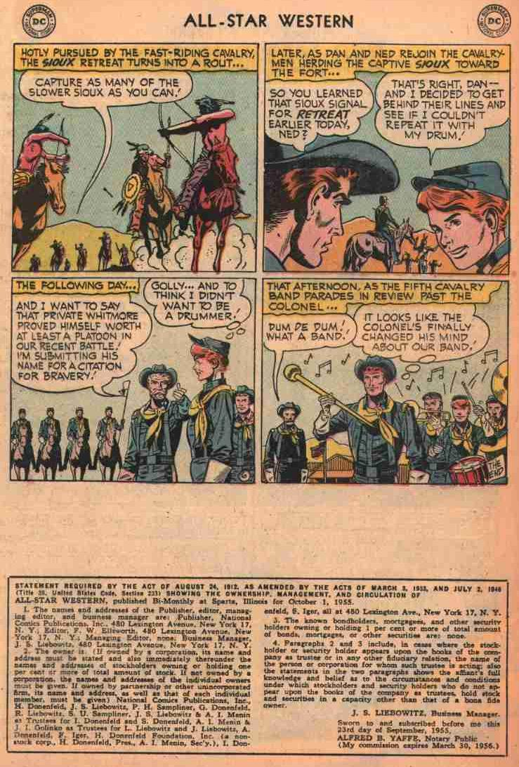 Read online All-Star Western (1951) comic -  Issue #87 - 24
