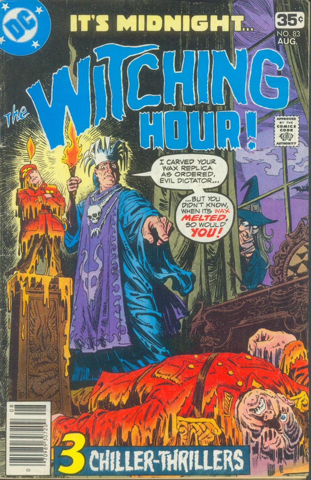 The Witching Hour (1969) issue 83 - Page 1