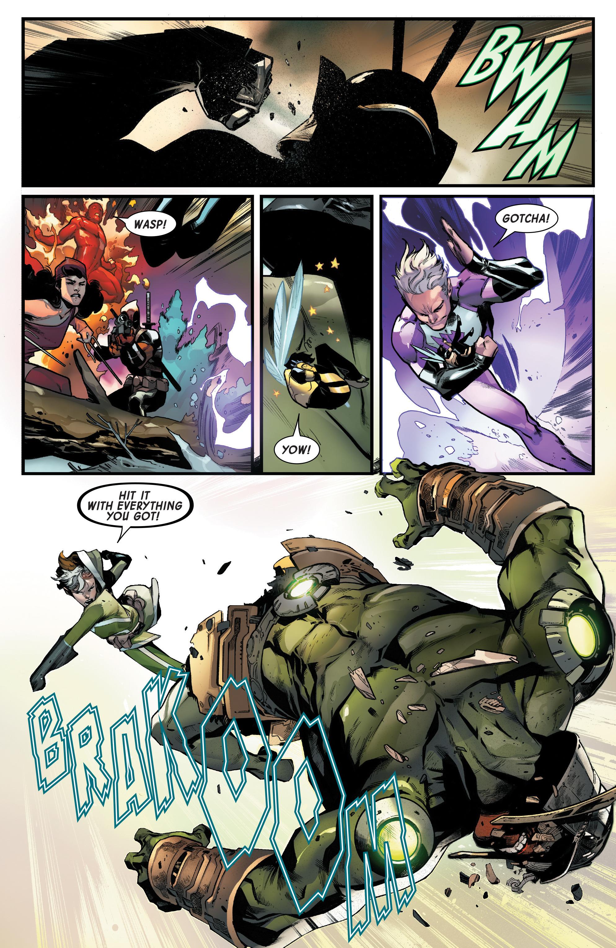 Read online Uncanny Avengers [II] comic -  Issue #16 - 20