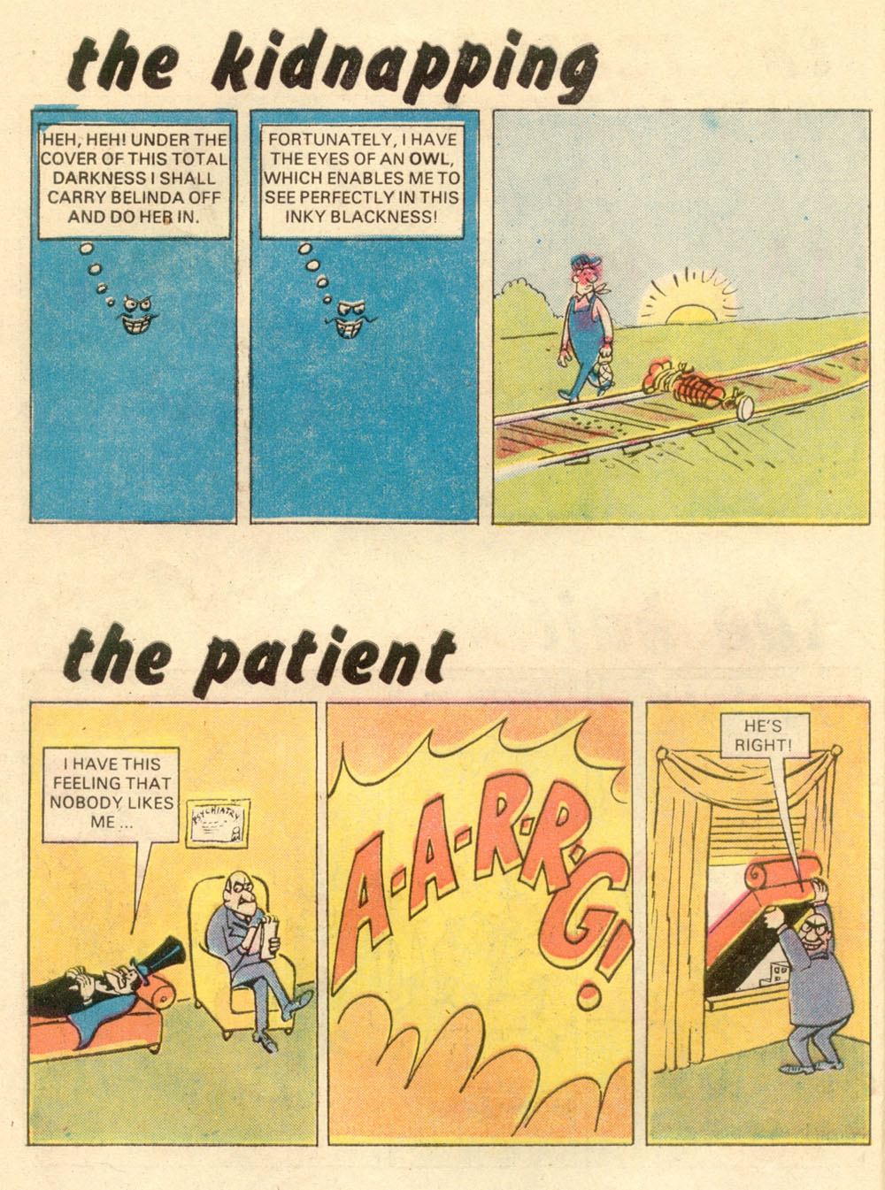 Read online Plop! comic -  Issue #21 - 6