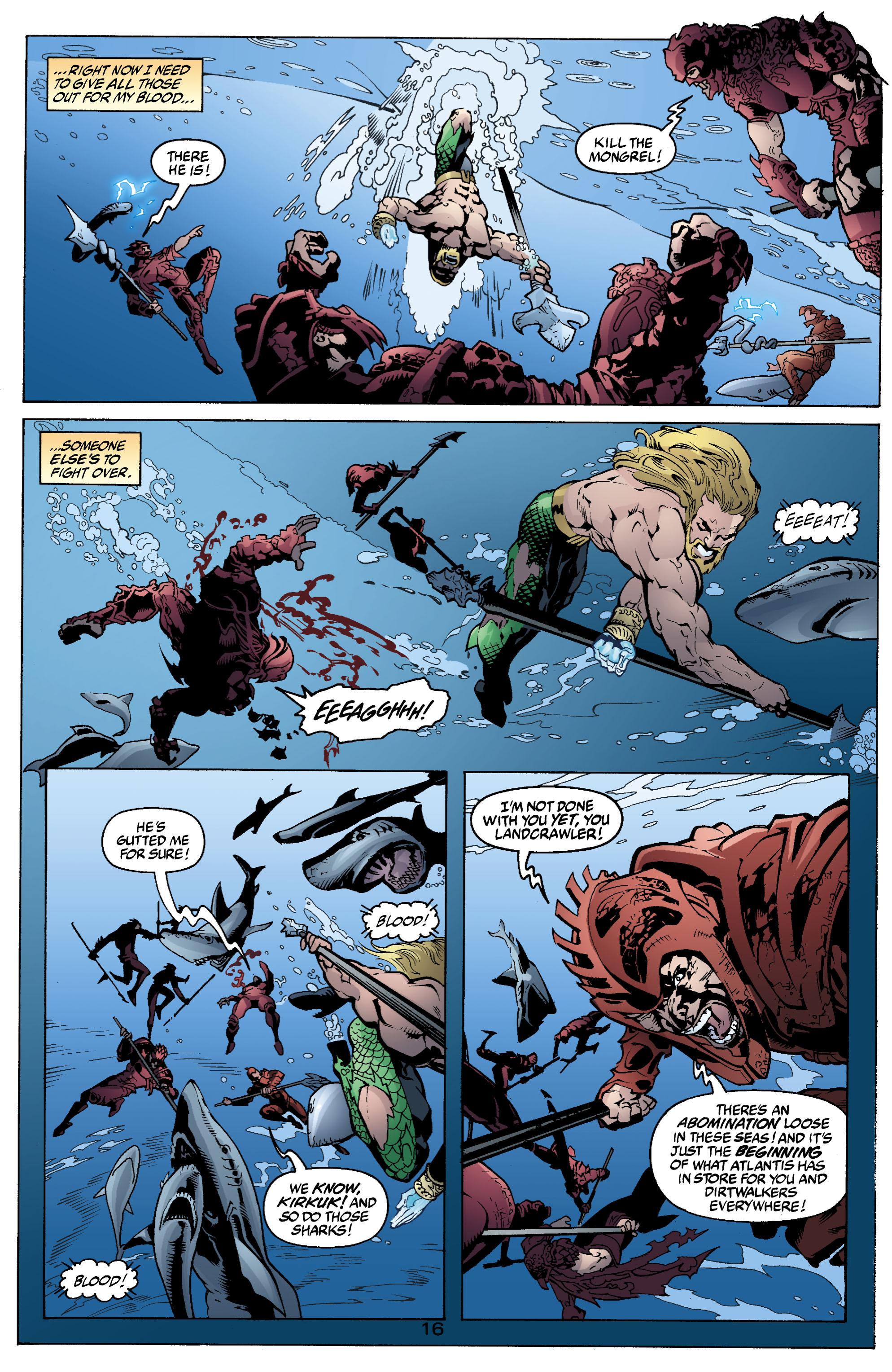 Read online Aquaman (2003) comic -  Issue #2 - 17