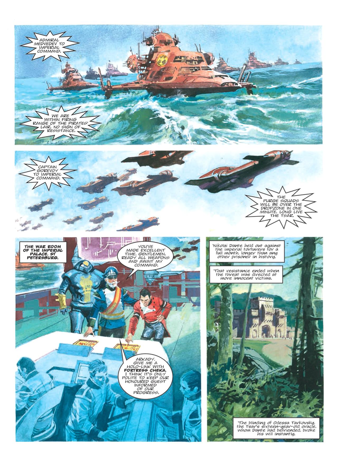 Read online Nikolai Dante comic -  Issue # TPB 9 - 90