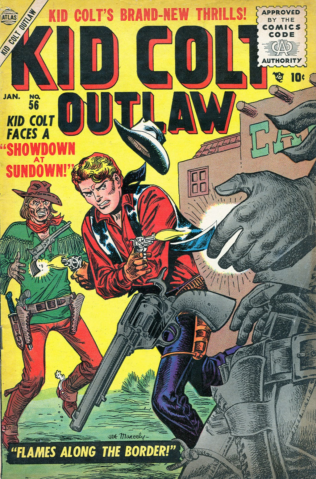 Kid Colt Outlaw issue 56 - Page 1