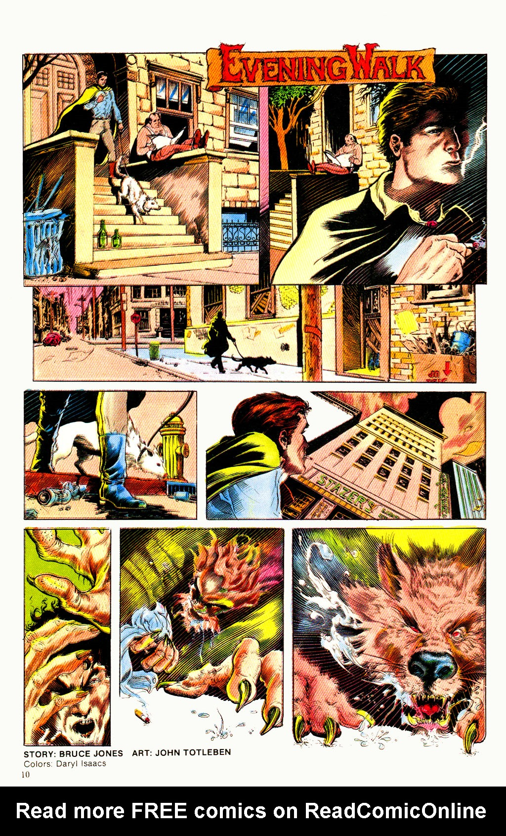 Read online Twisted Tales (1982) comic -  Issue #6 - 12