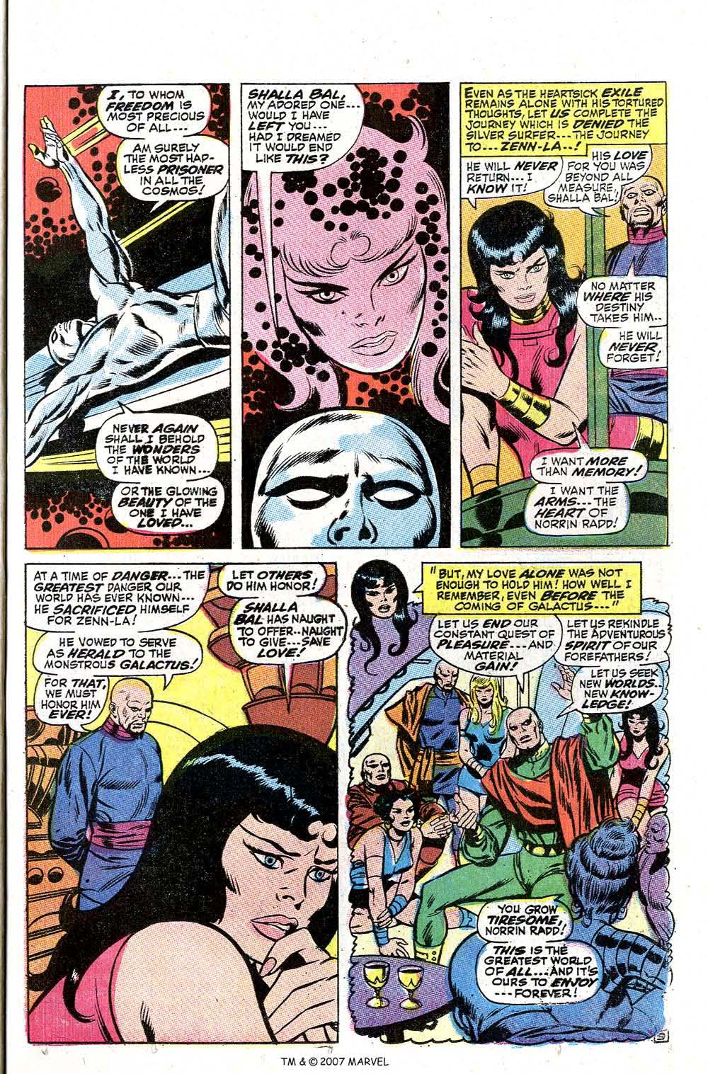 Read online Silver Surfer (1968) comic -  Issue #2 - 13