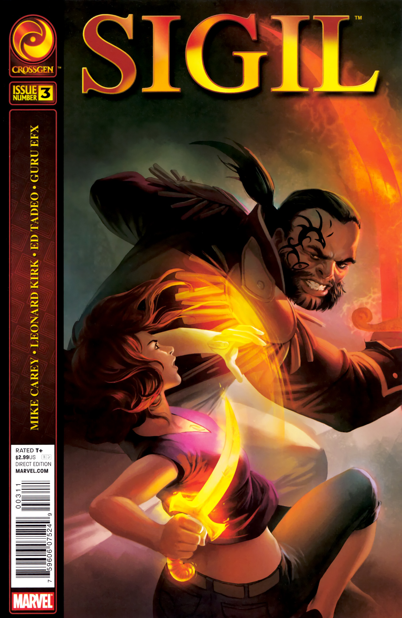 Read online Sigil (2011) comic -  Issue #3 - 1