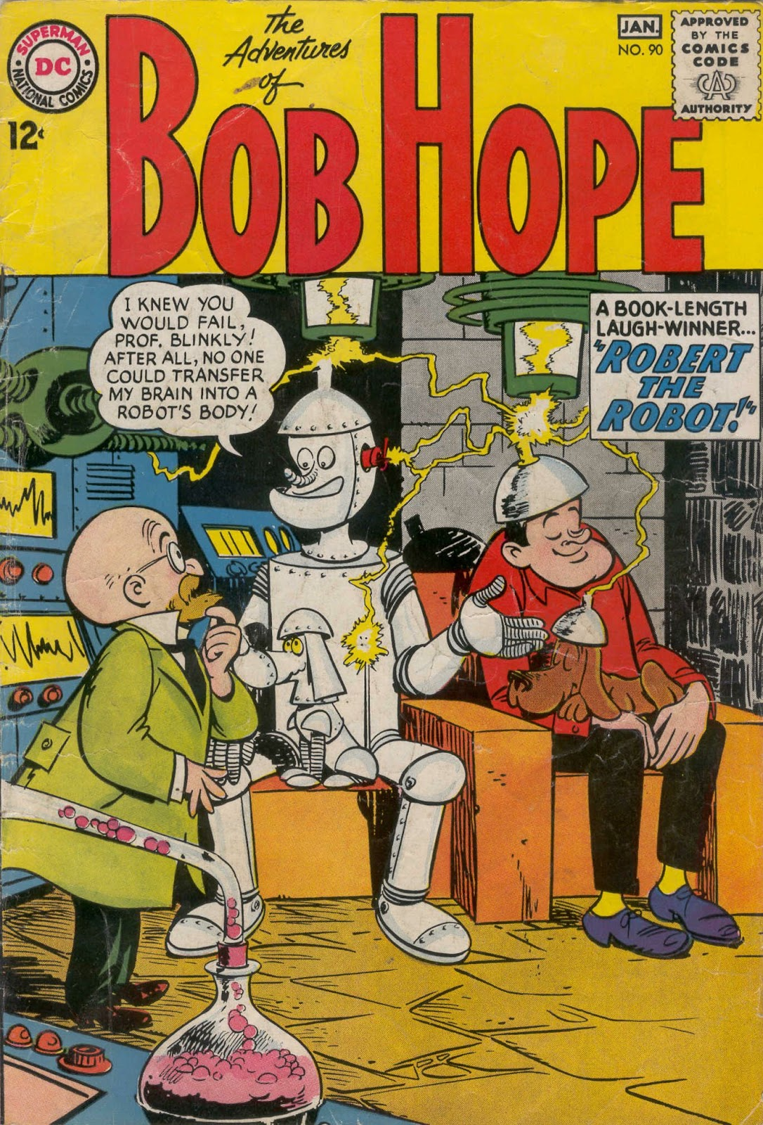 The Adventures of Bob Hope issue 90 - Page 1