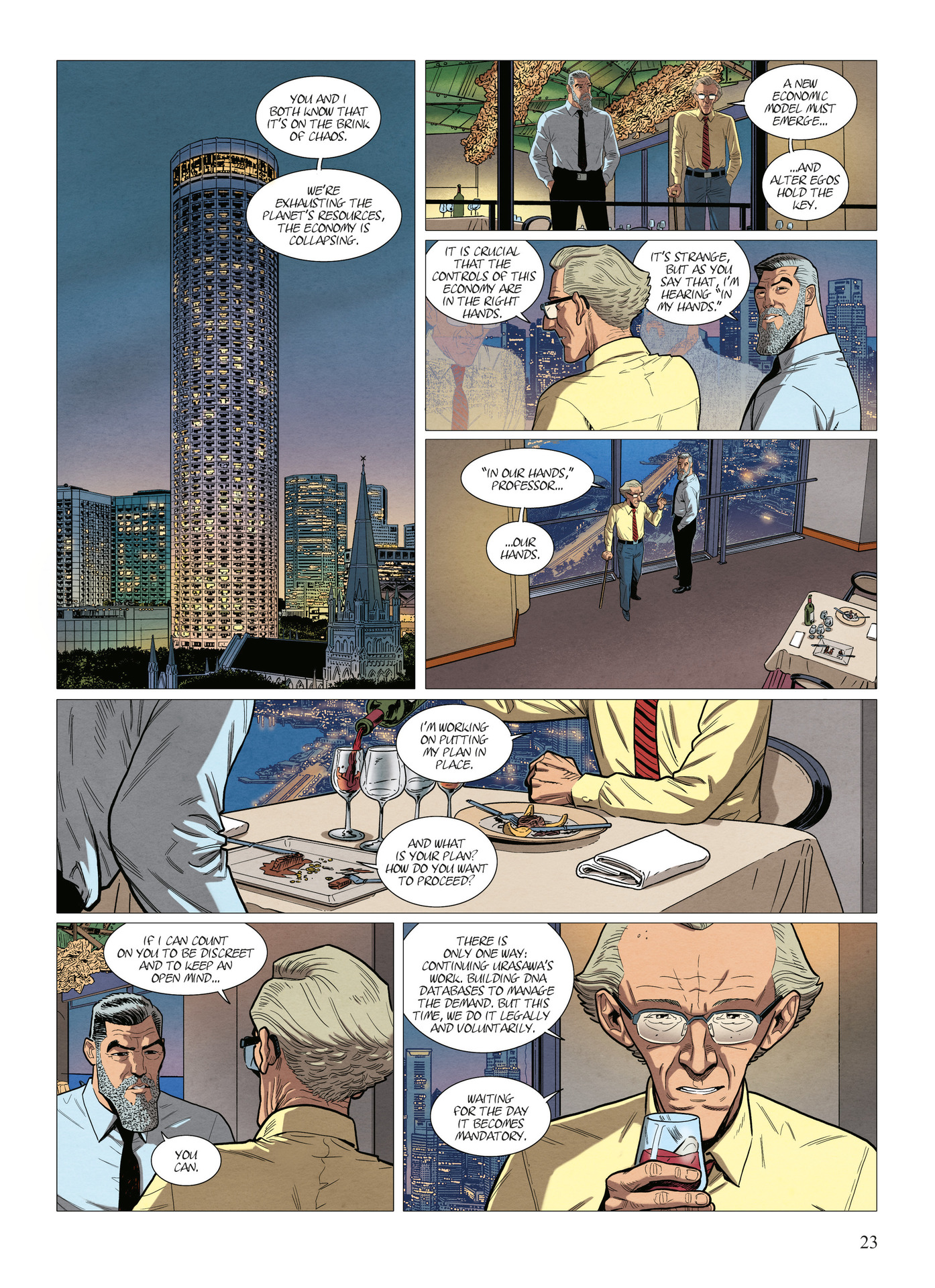 Read online Alter Ego comic -  Issue #10 - 24