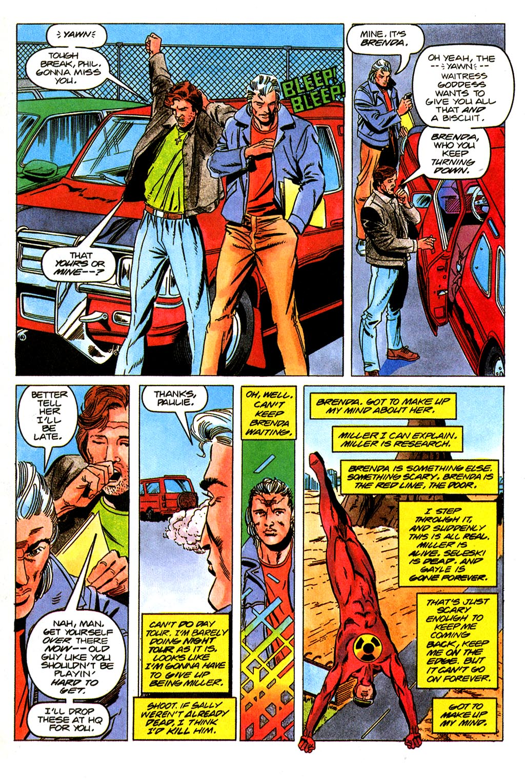 Read online Solar, Man of the Atom comic -  Issue #45 - 2