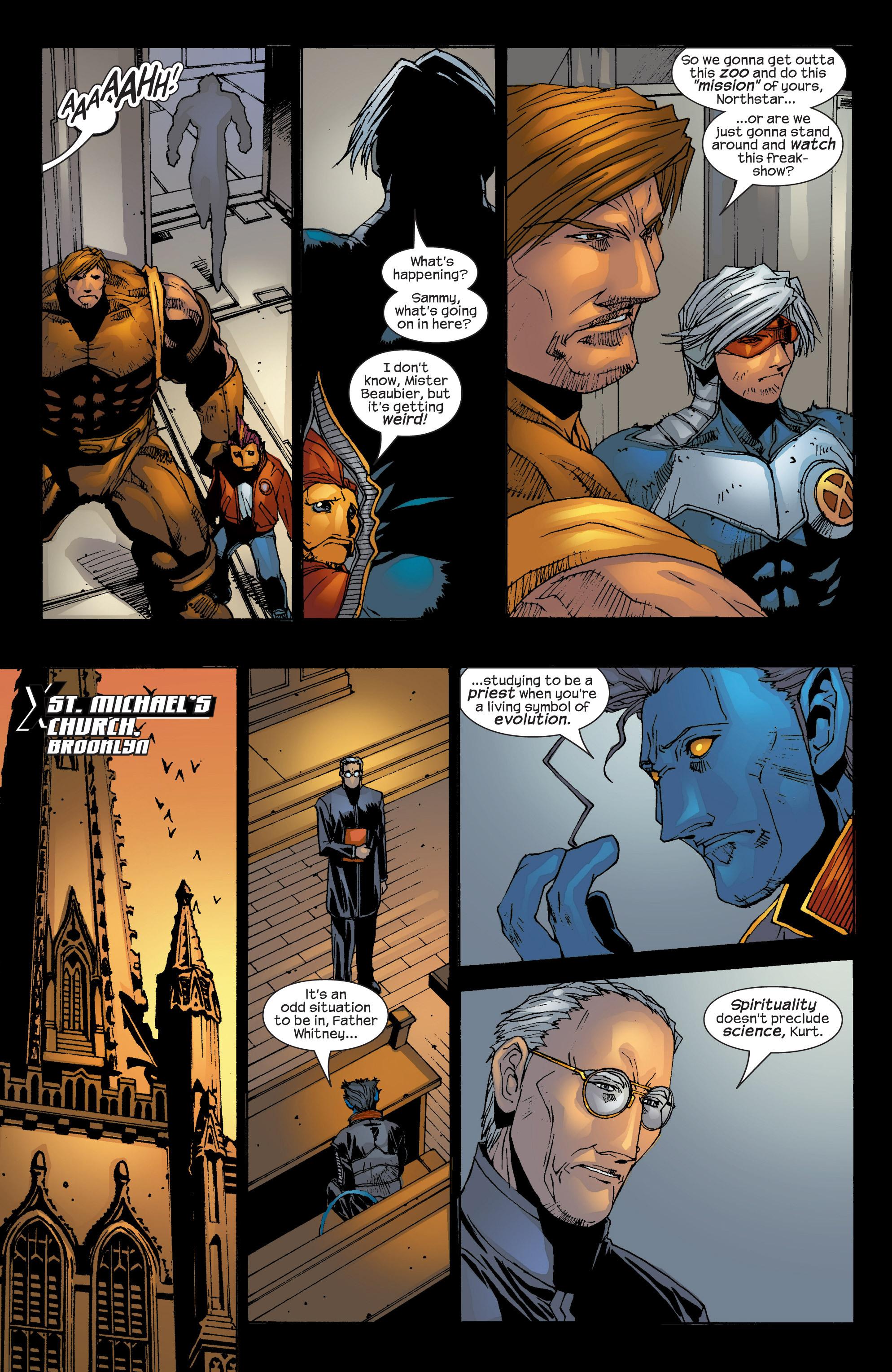 Read online Uncanny X-Men (1963) comic -  Issue #419 - 19