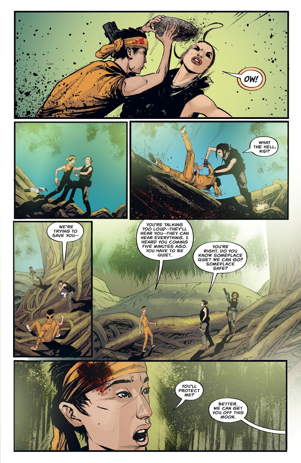 Read online Aliens: Resistance comic -  Issue #4 - 9