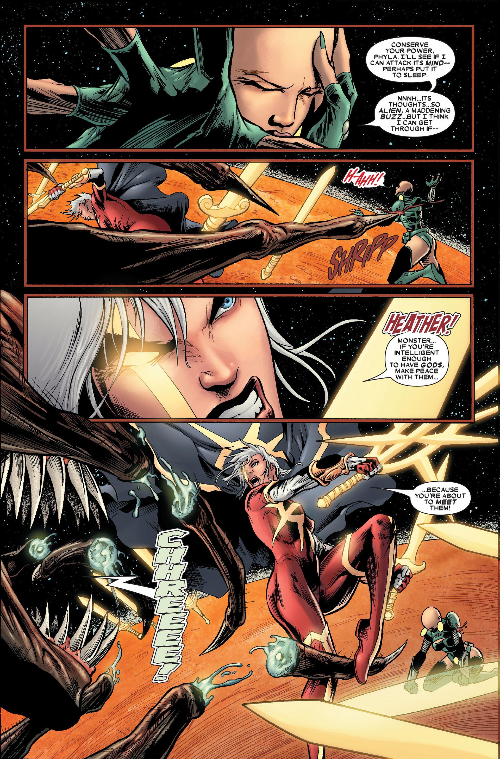 Read online Annihilation: Conquest - Quasar comic -  Issue #2 - 4