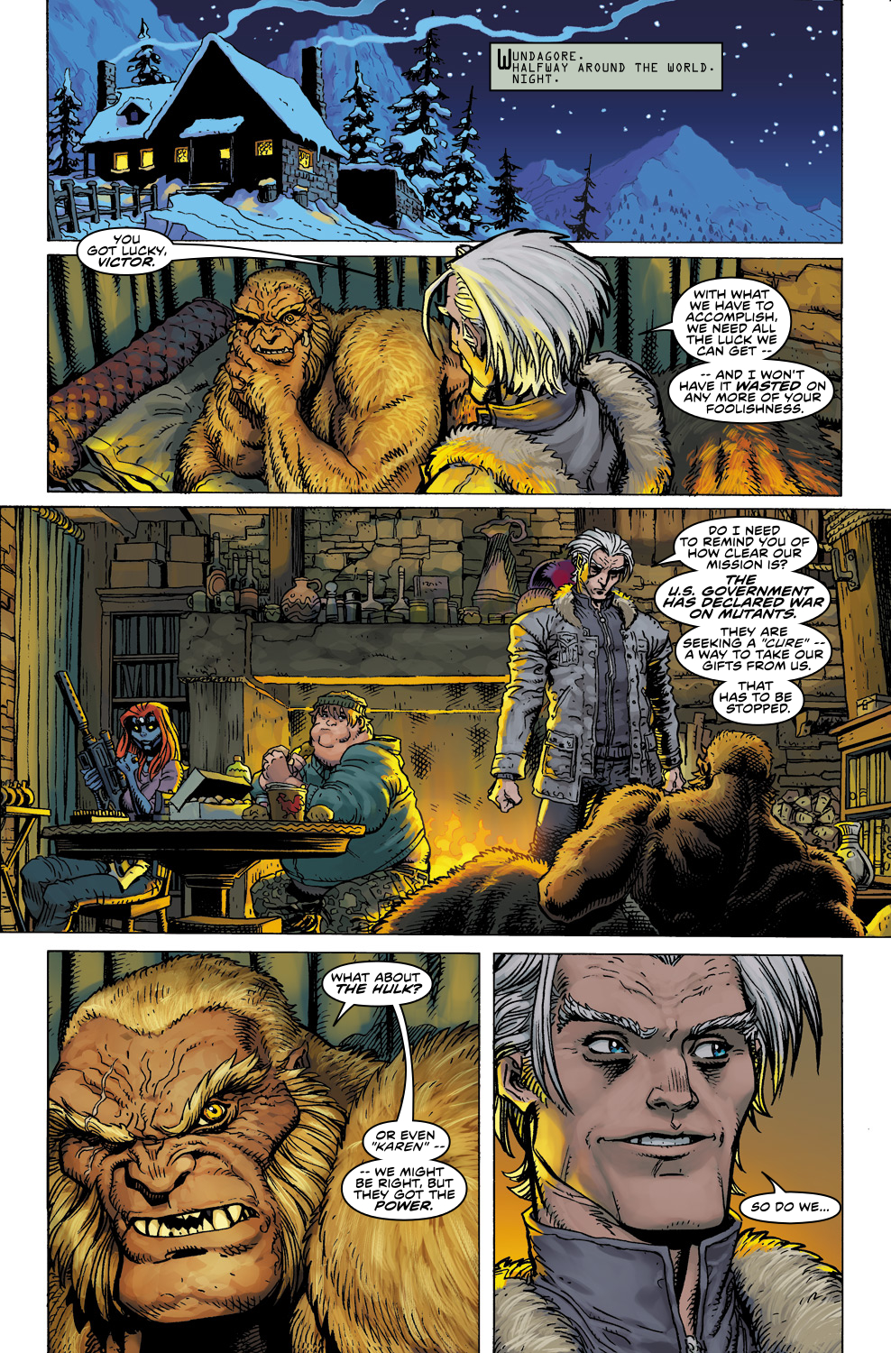 Read online Ultimate X comic -  Issue #5 - 21