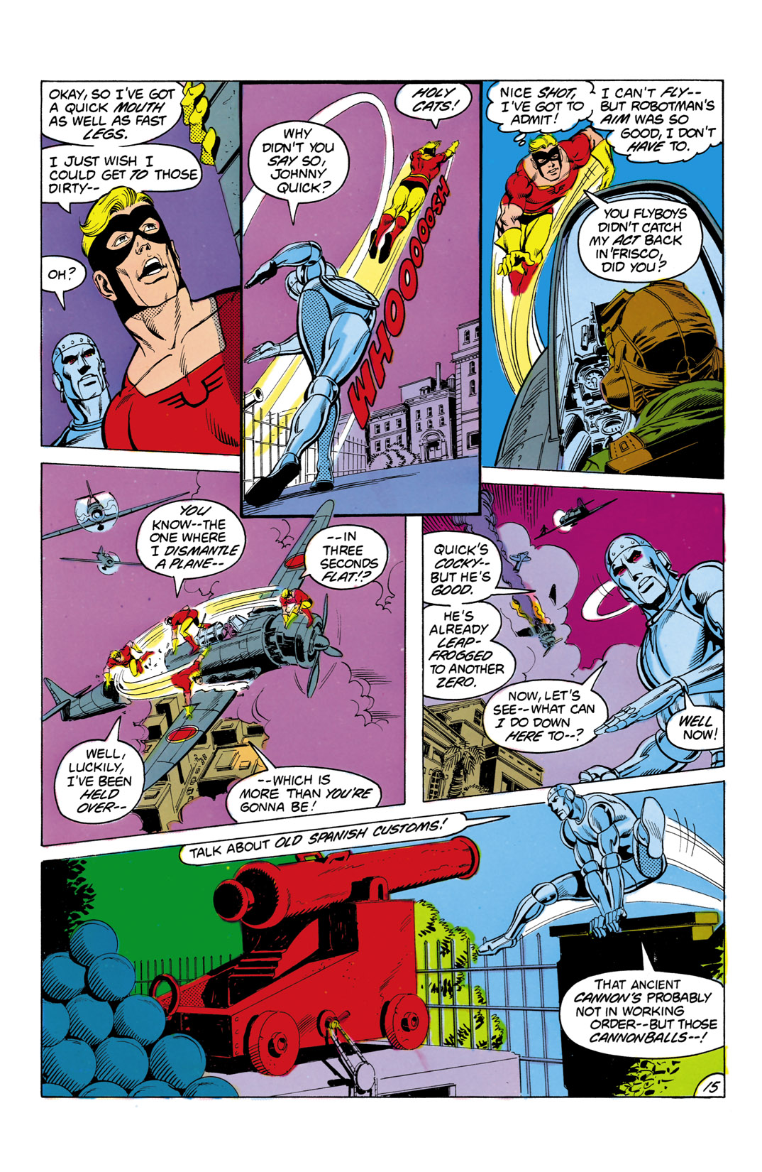 Read online All-Star Squadron comic -  Issue #3 - 16