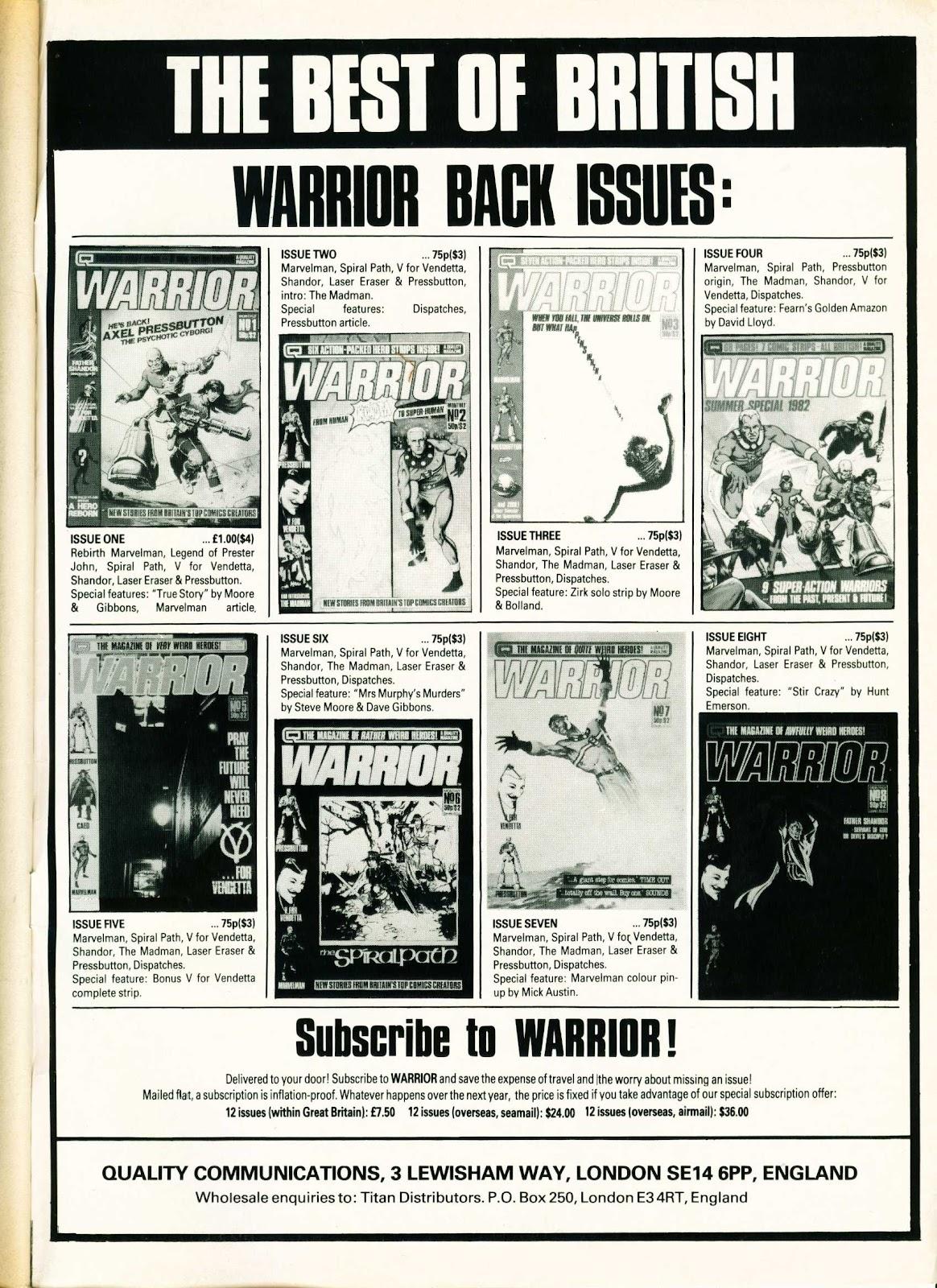Warrior Issue #9 #10 - English 51