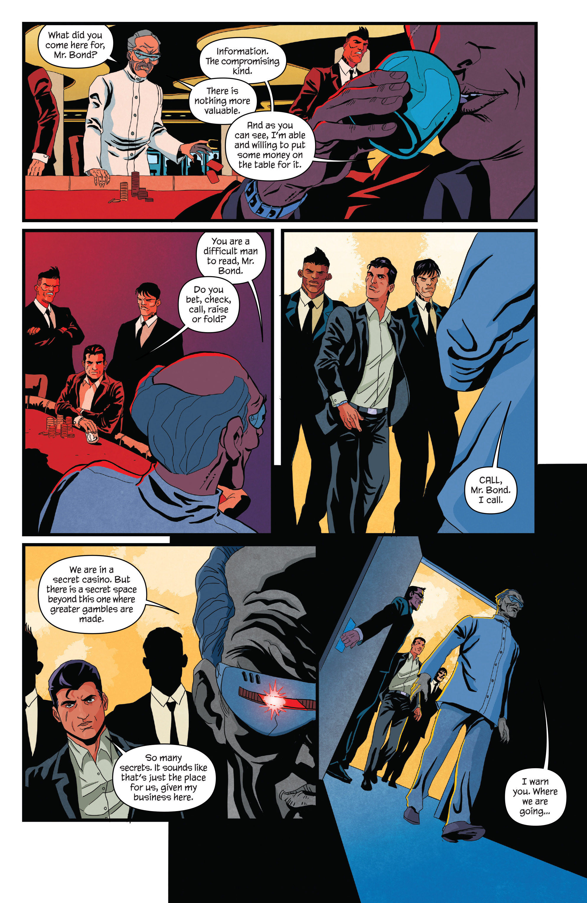 Read online James Bond (2017) comic -  Issue #2 - 11