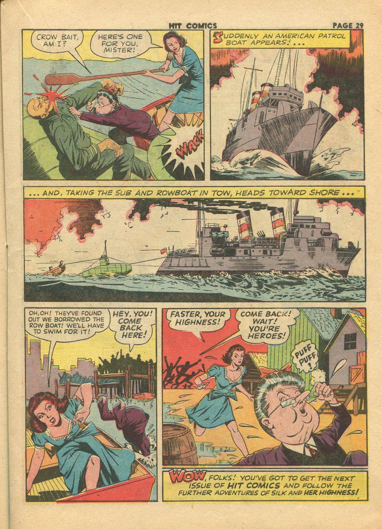Read online Hit Comics comic -  Issue #28 - 32