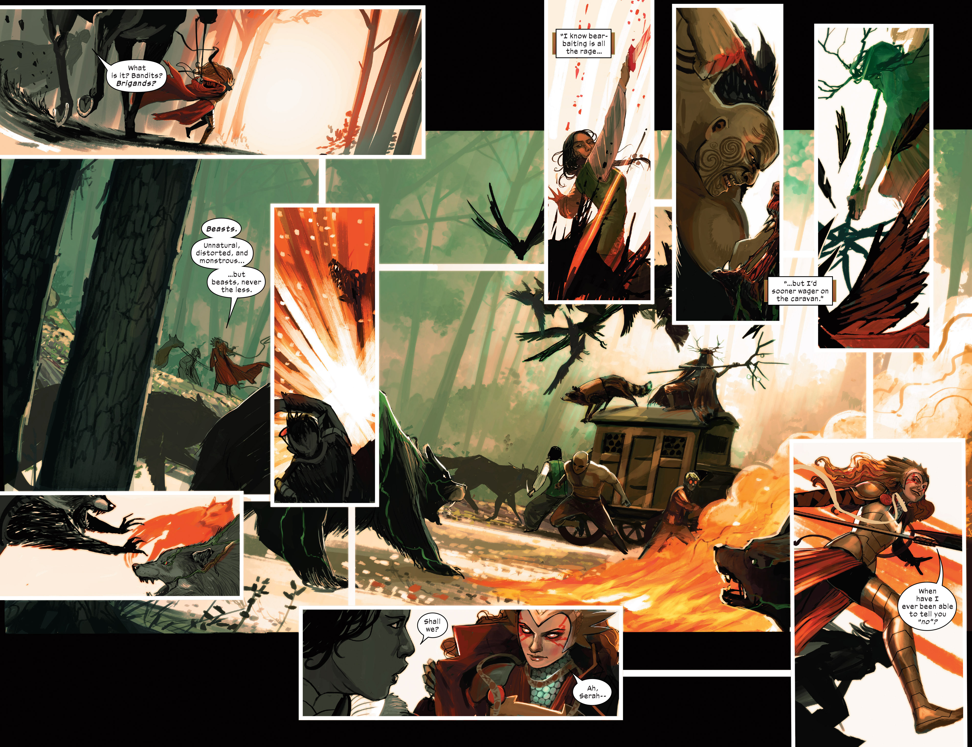 Read online 1602 Witch Hunter Angela comic -  Issue #2 - 5