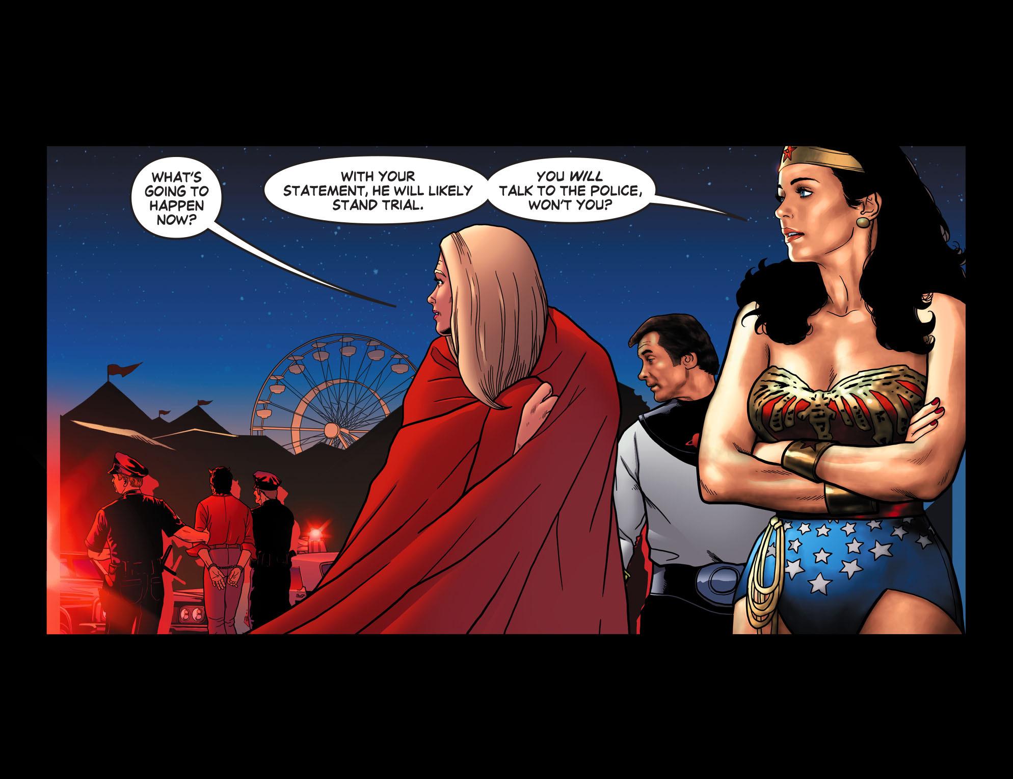 Read online Wonder Woman '77 [I] comic -  Issue #13 - 19