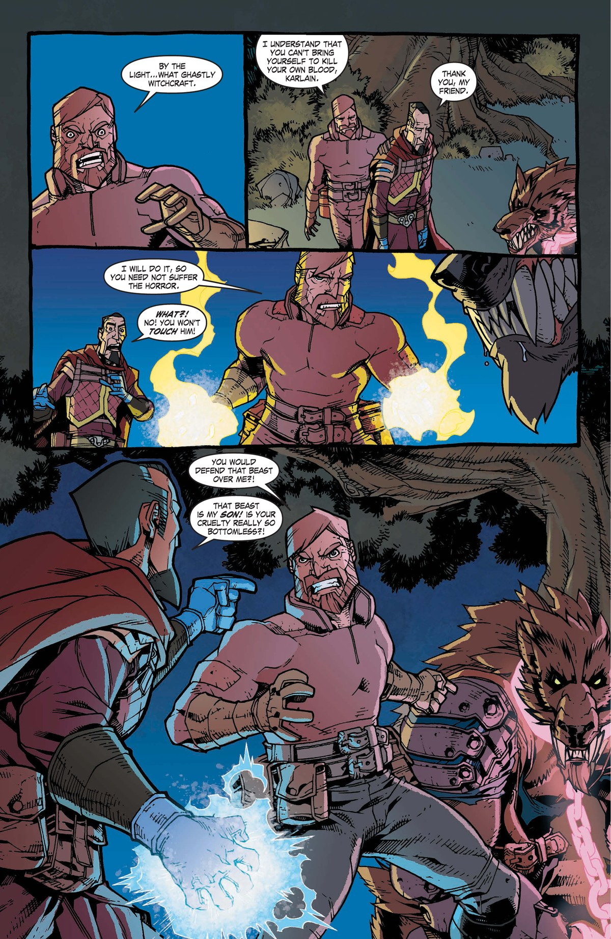 Read online World of Warcraft: Dark Riders comic -  Issue # Full - 78