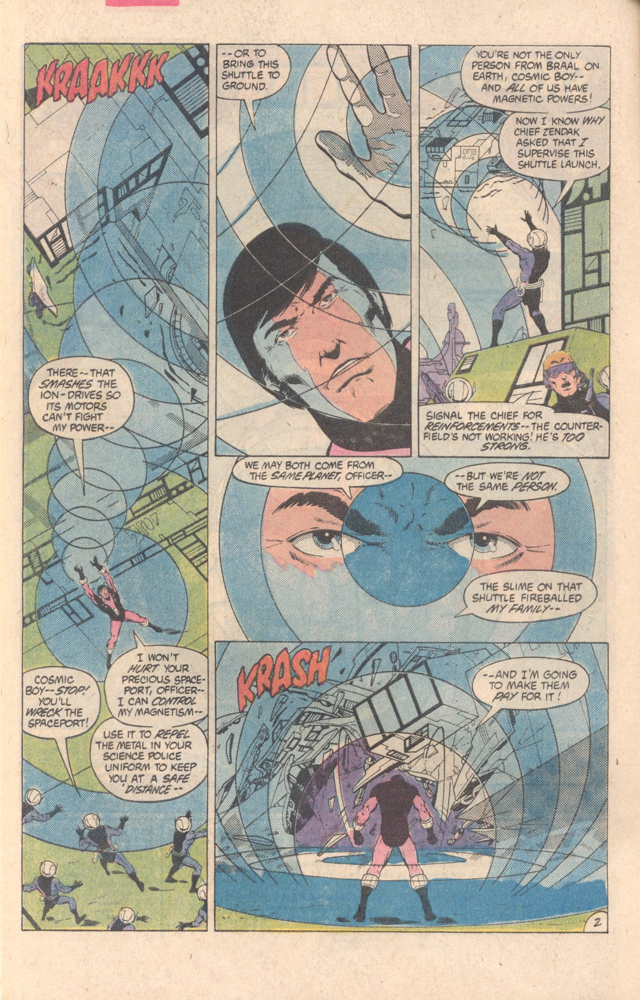 Legion of Super-Heroes (1980) 297 Page 2