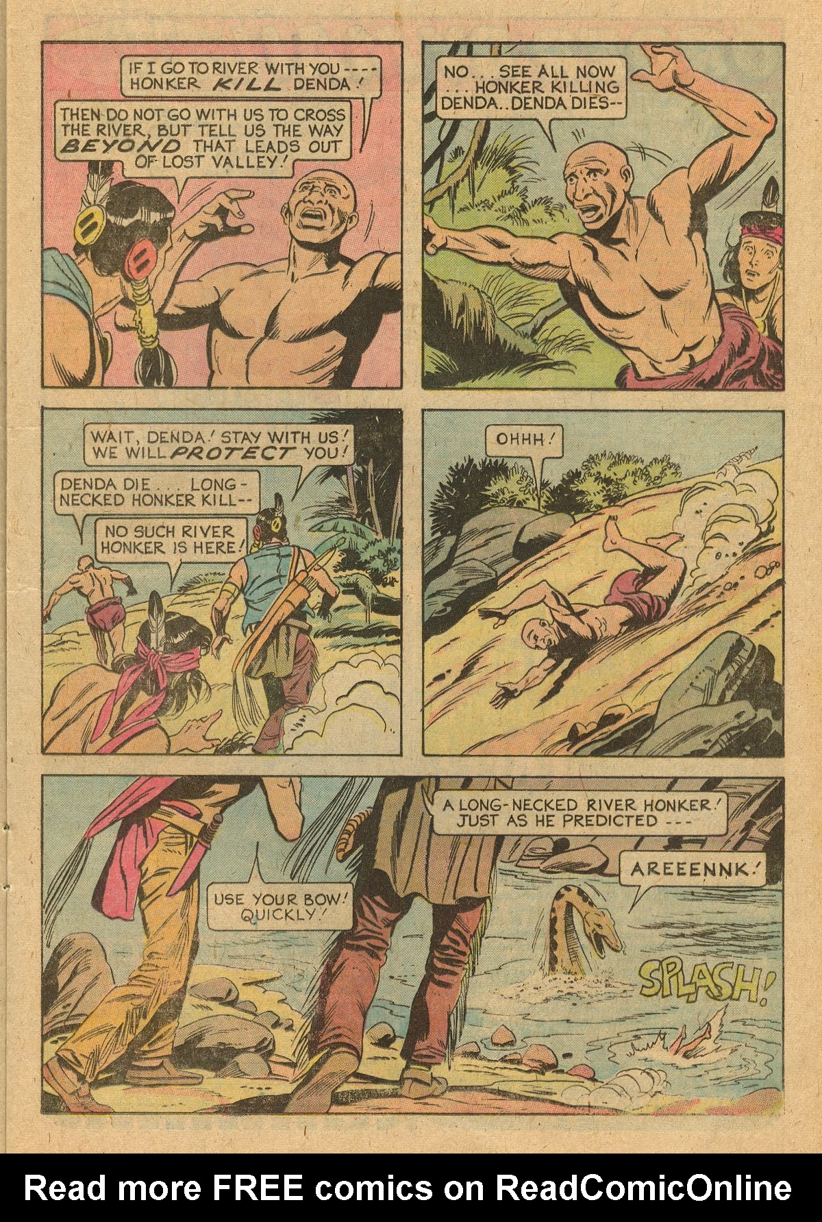 Read online Turok, Son of Stone comic -  Issue #105 - 13