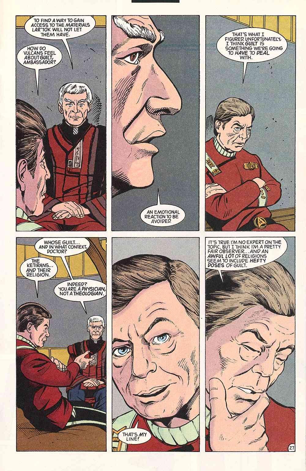 Read online Star Trek (1989) comic -  Issue # Annual 3 - 31