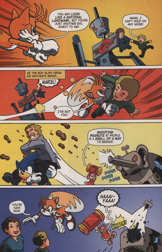 Read online Sonic X comic -  Issue #8 - 22