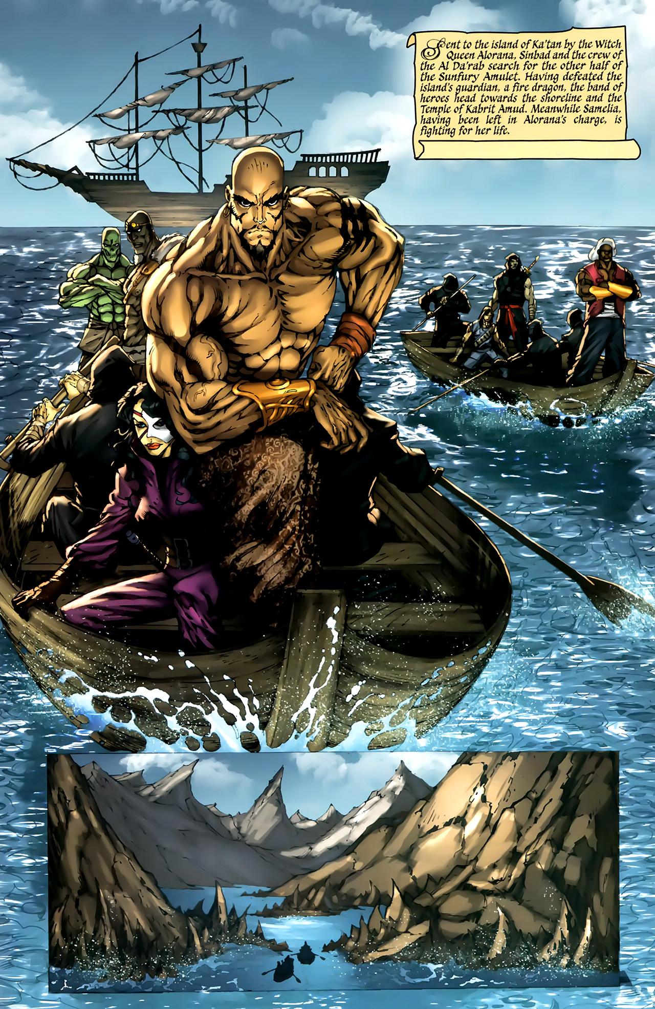 Read online 1001 Arabian Nights: The Adventures of Sinbad comic -  Issue #4 - 5